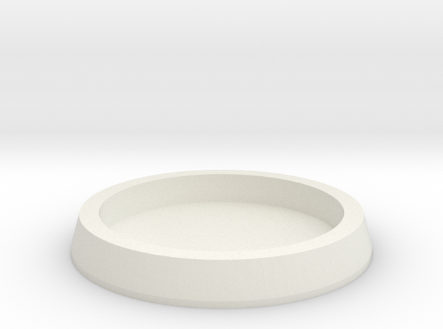 25mm to 32mm Insert Adapter in White Strong & Flexible