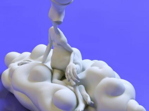 AWN Reclining Nude 3d printed another shot