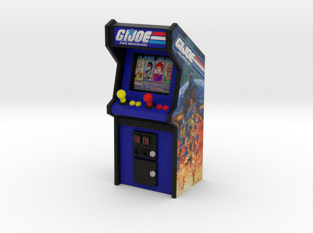 "3 3/4"" Scale G.I.Joe Arcade Game"