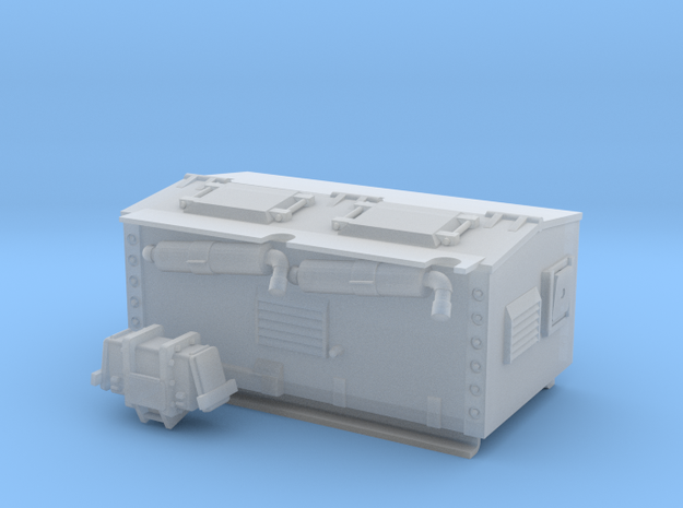 1:35 FV439 Gene And Power Box V1.0 in Smooth Fine Detail Plastic