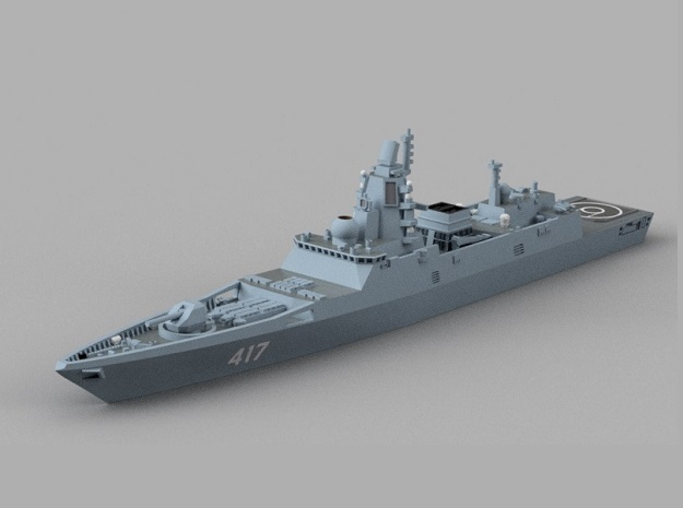 1/900 RFS Admiral Gorshkov-class frigate in Smooth Fine Detail Plastic