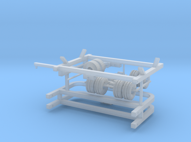 1/64 centerfold disc frame and wheels