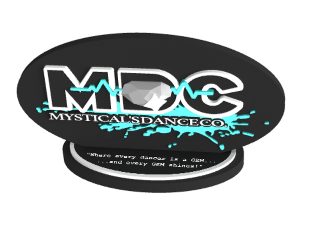 Mysticals Dance Company/MDC in Glossy Full Color Sandstone
