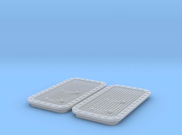 DDG-51 Aft Stackhouse Vent 2P - (2PK) in Smooth Fine Detail Plastic
