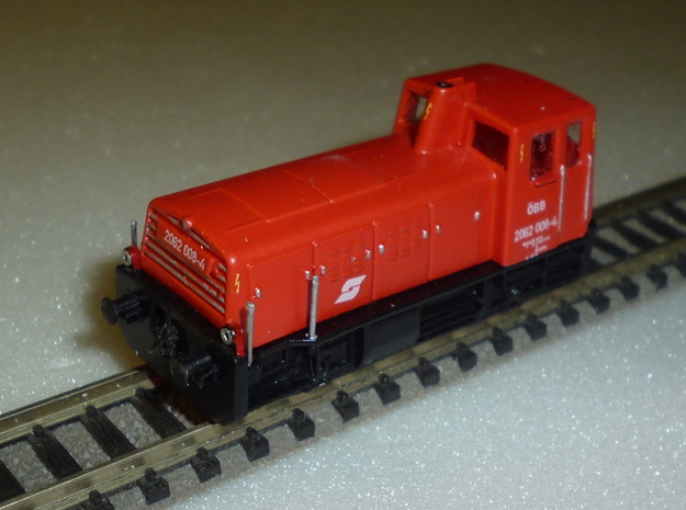 ÖBB 2062 1/160 NEUKONSTRUKTION in Smooth Fine Detail Plastic