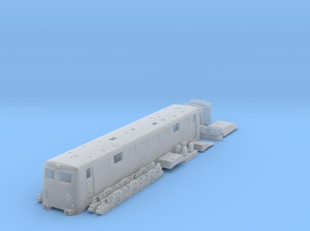 TT Gauge BR150 E50 electric locomotive Sprue 1