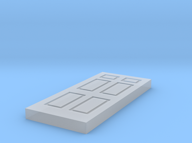 6PanelDoorHO in Smooth Fine Detail Plastic