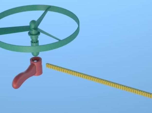 Helicopter Toy 3 3d printed