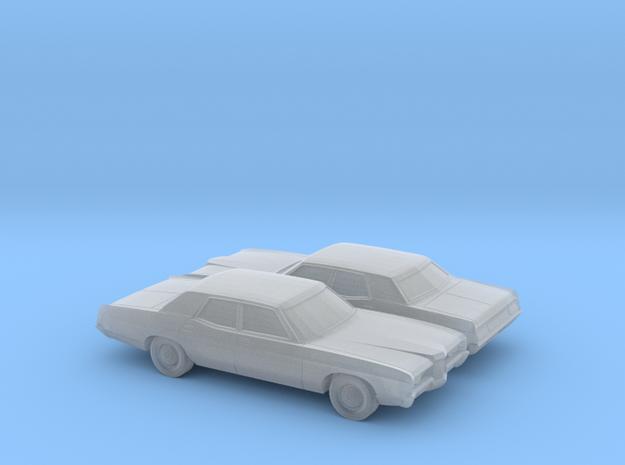 1-160 2X 1971/72 Ford LTD Sedan