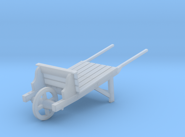 18th Century Wheelbarrow 1/43.5 in Frosted Ultra Detail
