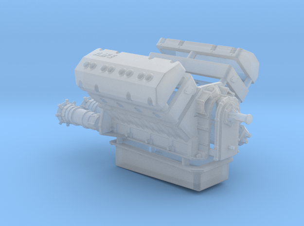 AJPE Hemi 1/25 Dual Plug in Smooth Fine Detail Plastic