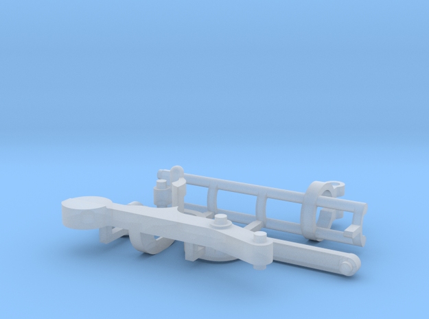 "Parts for the ""Cube"" marble run in Smooth Fine Detail Plastic"