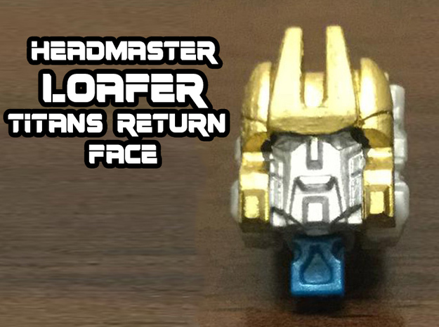 Loafer Faceplate (Titans Return) in Smooth Fine Detail Plastic