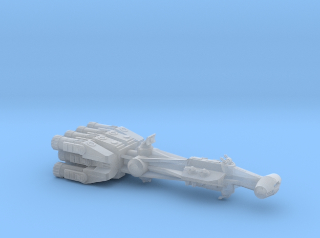 Rebellious Spaceship, 1:2700 in Frosted Extreme Detail