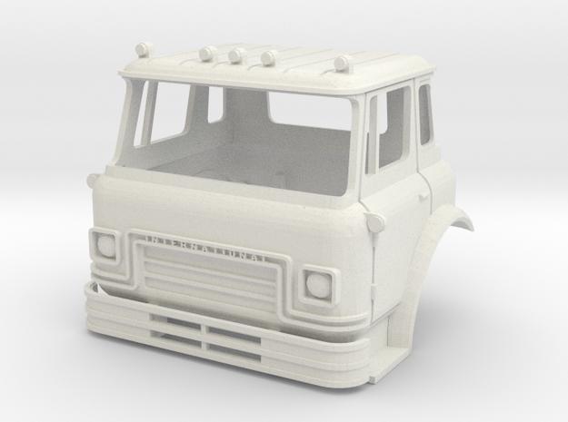 1/25 Scale Cargostar Cab in White Natural Versatile Plastic