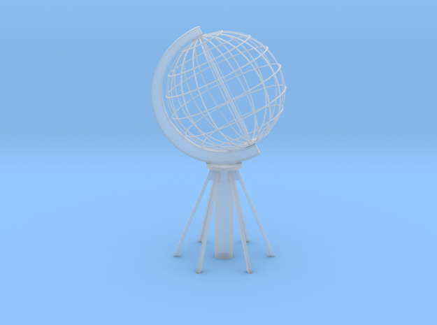 Northcape Globe in Smooth Fine Detail Plastic