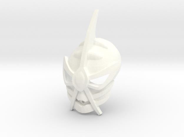 Freya's Kanohi Crast in White Processed Versatile Plastic