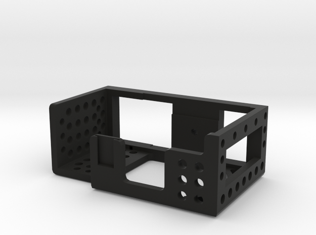 VDesigns Camera Cage Pro for Sony Alpha 5000 in Black Natural Versatile Plastic