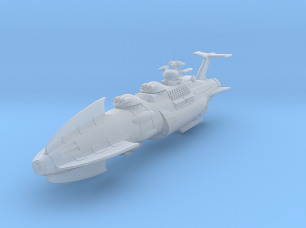 EDSF Battleship Siren Small in Smooth Fine Detail Plastic