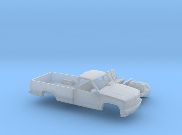 1/160 1994 Chevrolet Silverado Single Cab Long Bed in Smooth Fine Detail Plastic
