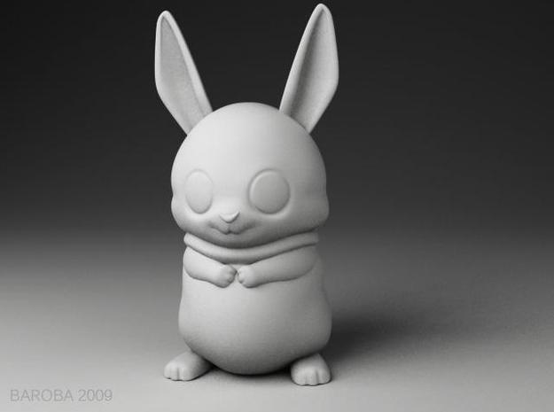 bowie the bunny 3d printed bowie the bunny