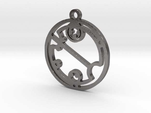 Cavallaro in Polished Nickel Steel