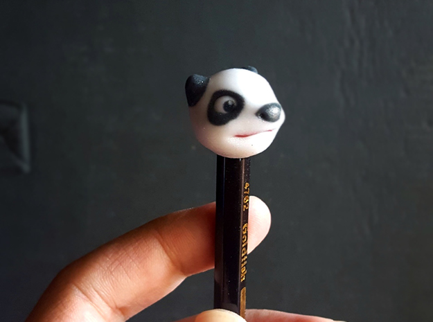 Panda in Full Color Sandstone