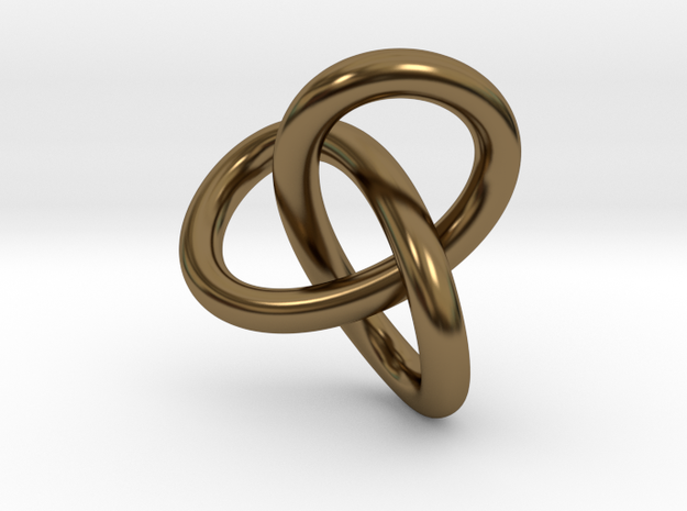 Math Art - Gordian Knot  Pendant