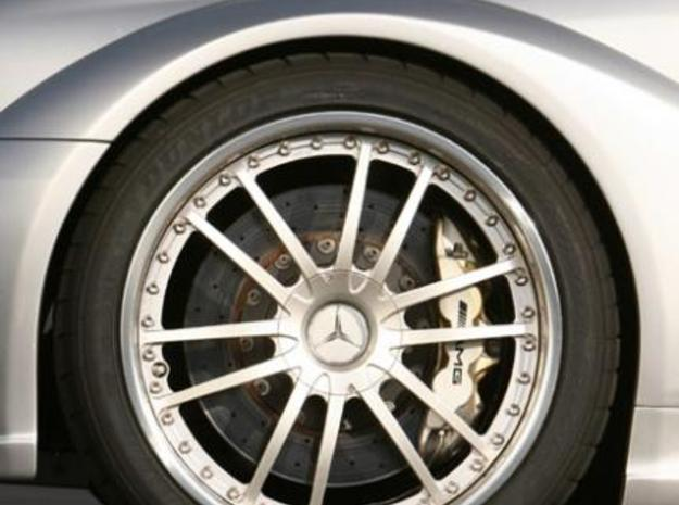 Wheel Mercedes AMG CLK DTM 3d printed Picture actual wheel