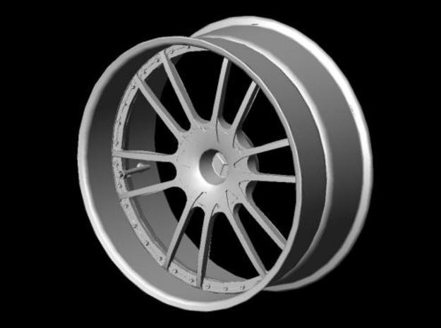 Wheel Mercedes AMG CLK DTM 3d printed Front view solid AutoCAD