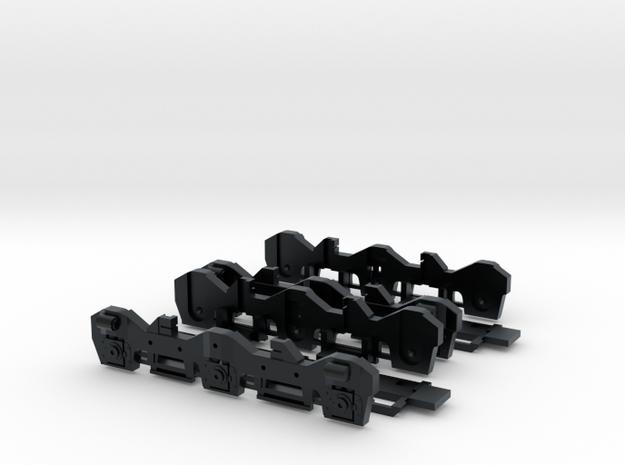 Flexicoil - Kato Early Production SD40-2 (N) in Black Hi-Def Acrylate