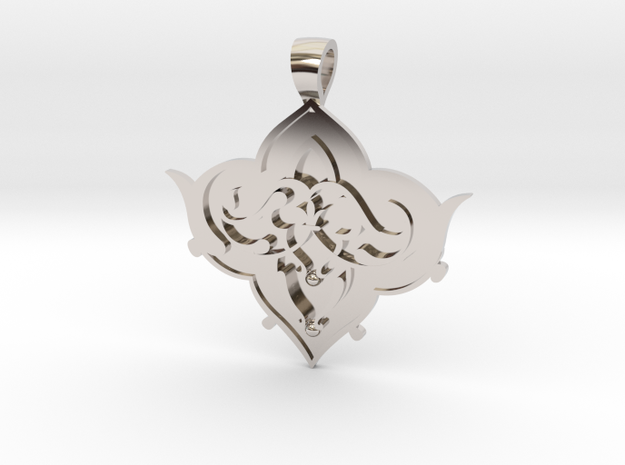 CODE: SL01FX - PENDANT in Rhodium Plated