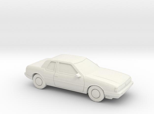 1/87 1985-89 Oldsmobile Toronado in White Strong & Flexible