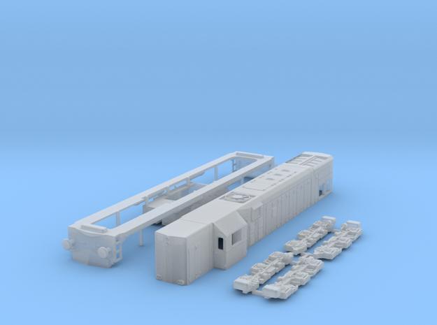HO scale G22 JZ / SZ 644 locomotive in Smooth Fine Detail Plastic