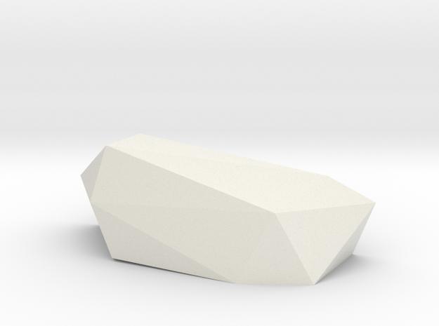 Roc2 in White Natural Versatile Plastic