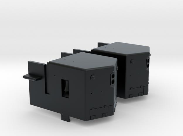 GP35 Nose w/ Light & Side Bell (N) in Black Hi-Def Acrylate