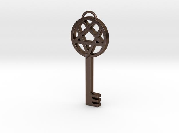 Key of Dark Light (Heartagram skelton key)
