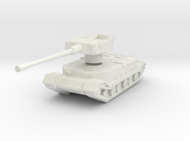 Tiger (P) tank in White Natural Versatile Plastic