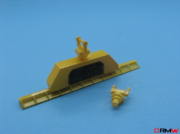 HO/1:87 Vacuum pipe lifter kit in Smooth Fine Detail Plastic