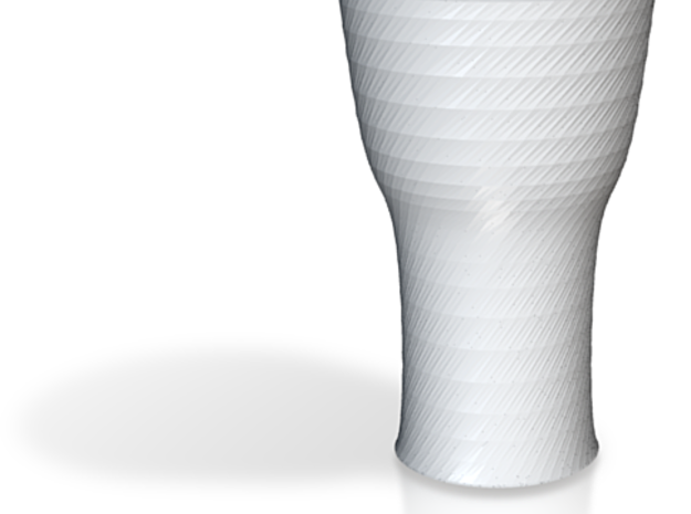 more printable twisted black cap cup 3d printed