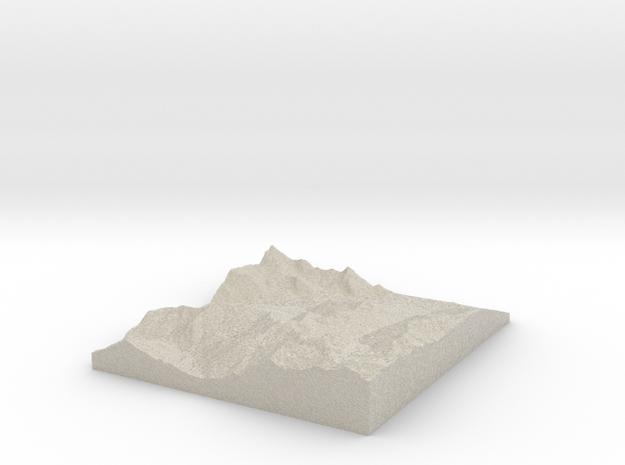 Model of La Cajéra in Natural Sandstone