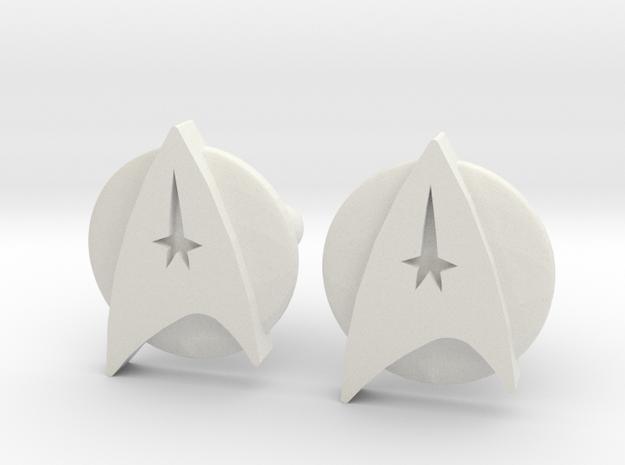 Starfleet Cufflinks