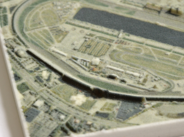 Daytona Int'l Speedway, Florida, USA, 1:20000 in Full Color Sandstone