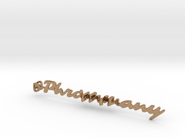 Twine Phrommany/Mia in Polished Brass