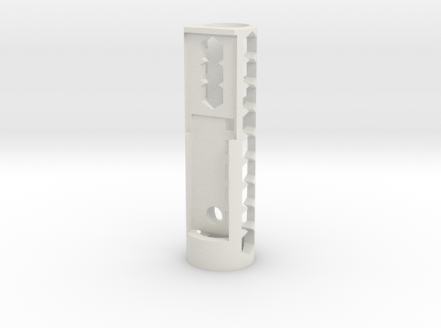 Aaron Sokalski Custom Commision in White Natural Versatile Plastic