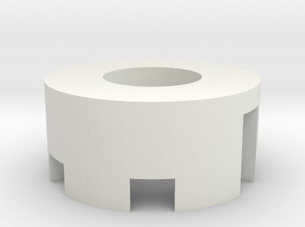 28mm Speaker Holder in White Natural Versatile Plastic