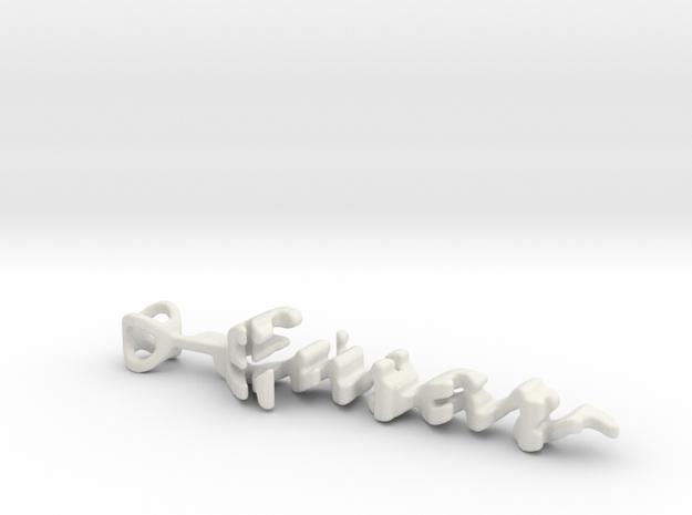 Twine Ensar/Aysun in White Natural Versatile Plastic