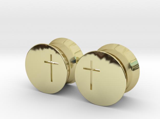 Crucifix Earring Gauges