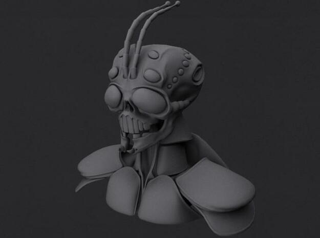 Alien Bug Bust 3d printed Description