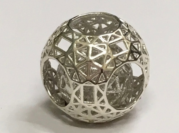 Nested in Polished Silver (Interlocking Parts)